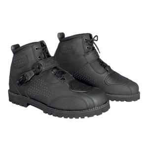 Moto topánky KORE Icone Farba čierna, Veľkosť 48