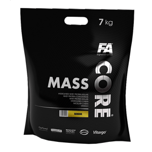 Fitness Authority Mass Core 7000 g Bílá čokoláda / kokos