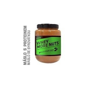 GoNutrition Whey More Nuts, 500g Skořice