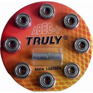 Sada ložisek TRULY ABEC 7 - Carbon/8ks