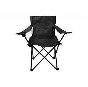 Campingová skládací židle s opěrkami