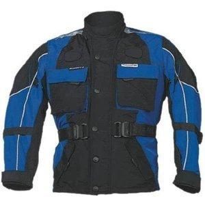 Detská moto bunda ROLEFF Kids Farba modro-čierna, Veľkosť M