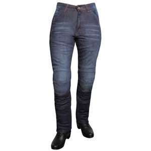Dámske jeansové moto nohavice ROLEFF Aramid Lady Farba modrá, Veľkosť 40/4XL