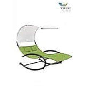 Vivere Double Chaise Rocke Green Apple