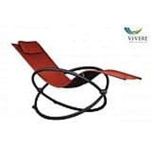 Záhradné hojdacie lehátko Vivere Orbital - cherry red