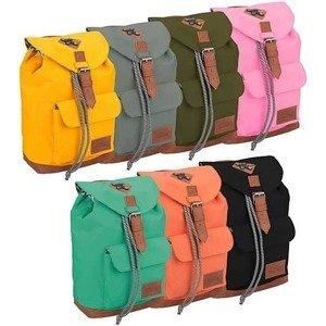 Dětský batoh Abbey Leather Strap Khaki