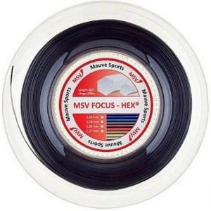 Focus HEX tenisový výplet 200 m stříbrná Průměr: 1,23