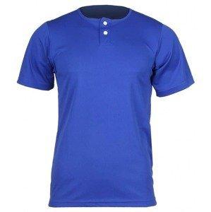 Pro Nine YBJ baseballový detský biela barva: modrá;velikost oblečení: L