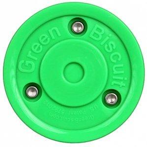 Original hokejový puk tréninkový barva: zelená