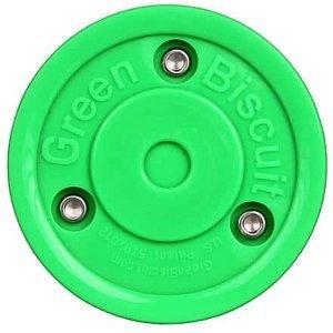 Original hokejový puk tréninkový zelená