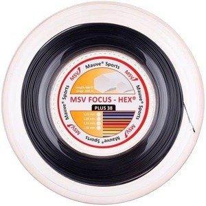 Focus HEX Plus 38 tenisový výplet 200 m černá Průměr: 1,30