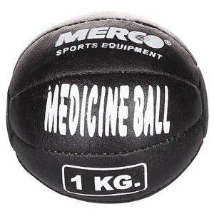 Black Leather kožený medicinální míč 1 kg