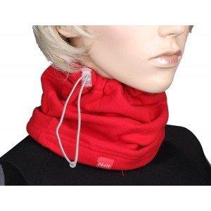 Winter multifunkční šátek barva: červená