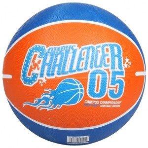 Print basketbalový míč oranžová Velikost míče: č. 7