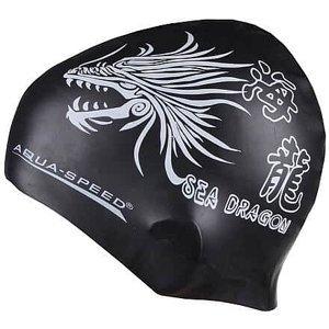Dragon koupací čepice černá