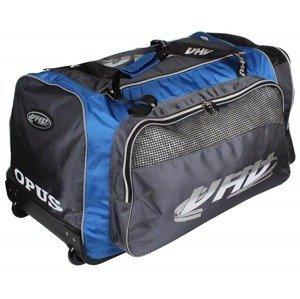 4088 hokejová taška na kolečkách barva: červená-šedá;velikost oblečení: senior