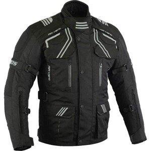 Pánska touringová moto bunda BOS Temper Farba čierna, Veľkosť 4XL