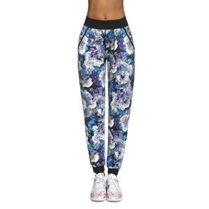 Basbleu dámské sportovní kalhoty Chalice modrofialová Velikost S Velikost M