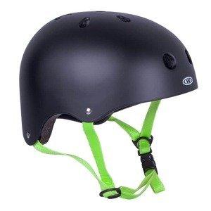 Freestyle prilba WORKER Rivaly Farba zelený remienok, Veľkosť M (55-58)