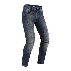 Pánske moto jeansy PMJ Dallas CE Farba modrá, Veľkosť 36