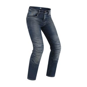 Pánske moto jeansy PMJ Vegas CE Farba modrá, Veľkosť 34