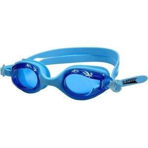 Ariadna dětské plavecké brýle barva: bílá-oranžová