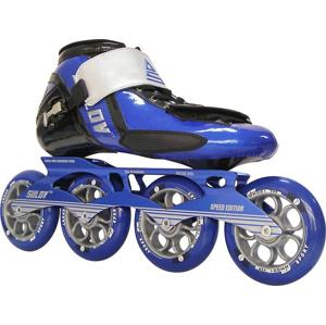Kolečkové brusle SULOV RS SPEED, modré Brusle velikost: 42