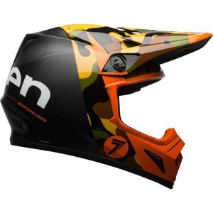 Motokrosová prilba BELL MX-9 MIPS Farba Seven Soldier Orange Matte/Gloss, Veľkosť XXL (63-64)