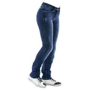 Dámske moto jeansy City Nomad Karen Iron Farba modrá, Veľkosť XS