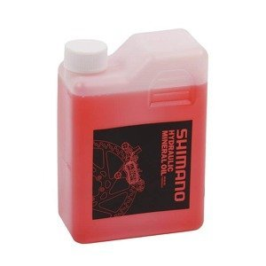 Shimano minerální olej pro hydraulické brzdy 1l