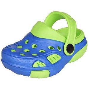 Lido dětské pantofle modrá-zelená Velikost (obuv): 21