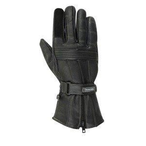 Moto rukavice BOS Prag Farba čierna, Veľkosť XL