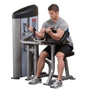 BODY SOLID S2AC-3 ARM CURL - stroj na biceps 105 kg