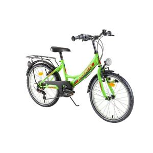 "Detský bicykel Kreativ 2014 20"" 3.0 Farba Turquoise"
