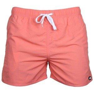 Miami pánské plavecké šortky barva: korálová;velikost oblečení: M