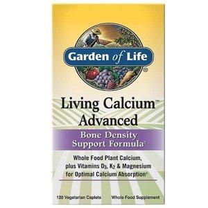 Living Calcium Advanced Bone Density Support Formula - 120tabl.