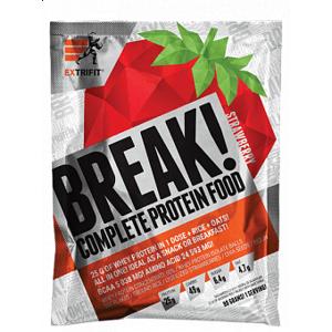 Extrifit Protein Break! 10x 90g 10x90g Jahoda