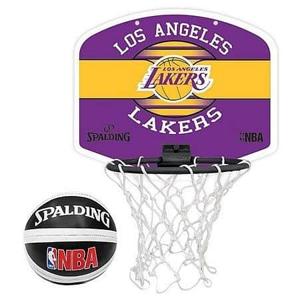 Basketbalový koš Spalding Miniboard NBA LA Lakers