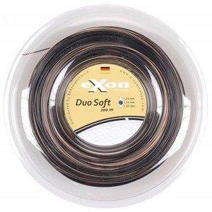 Duo Soft tenisový výplet 200 m černá-stříbrná Průměr: 1,30