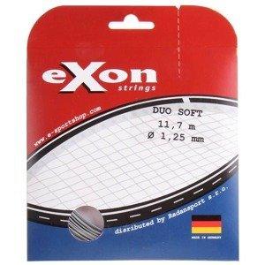 Duo Soft tenisový výplet 11,7 m černá-stříbrná Průměr: 1,30
