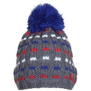 Underscore JR dětská zimní čepice barva: šedá