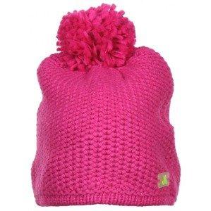 Solid Beanie dámská zimní čepice barva: růžová
