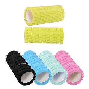 Masážní válec Springos Yoga Foam Roller limetková