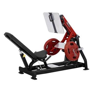 Leg press Steelflex Plateload Line PLLP Farba čierno-červená
