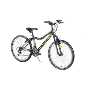 "Juniorský horský bicykel Kreativ 2404 24"" - model 2019 Farba blue"