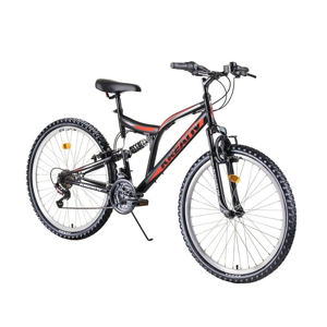 "Celoodpružený bicykel Kreativ 2641 26"" 4.0 Farba blue"