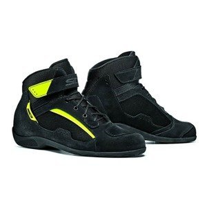Moto topánky SIDI Duna Farba black/yellow fluo, Veľkosť 46