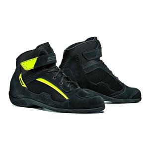 Moto topánky SIDI Duna Farba black/yellow fluo, Veľkosť 40