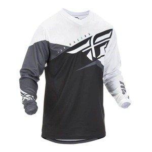 Motokrosový dres Fly Racing F-16 2019 Farba čierna/biela/šedá, Veľkosť 3XL