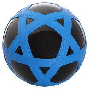 Cross Ball gumový míč černá-modrá
